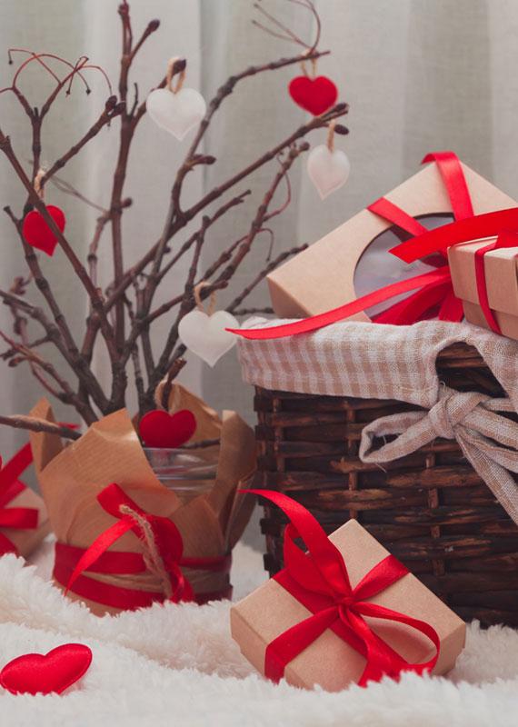 coffret ou une box cadeau